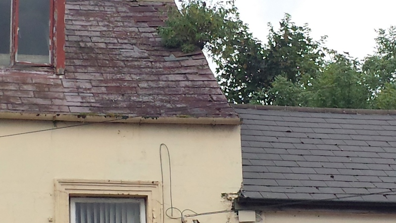 Newtownards Frances Street, Newtownards, Down, BT23 7DX Roofers Builders Ceiling Fixers Bangor Belfast Holywood  Helens Bay