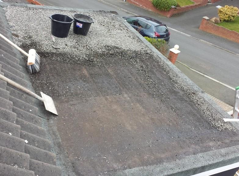 Donaghadee Flat Roof Repair Felt EPDM Belfast Bangor Holywood Builders Roofers