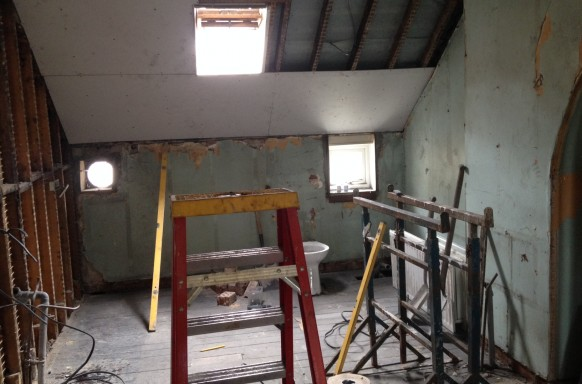 Roof-space Conversions Roofspace Conversions Bangor  Belfast Builders & Roofers supply Suspended Ceilings, Partition Walls.