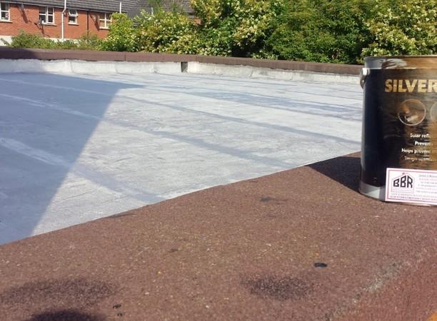 Sydenham Saint Brendans Church Roof Flat Roof Repair Felt EPDM Belfast Bangor Holywood Builders Roofers