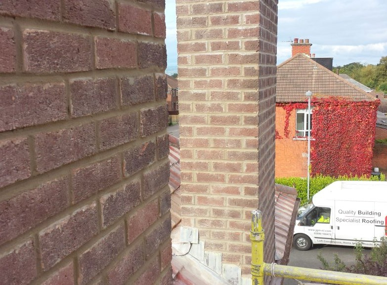 1 Norwood Grove,  Belfast BT4 2ED  Chimney Repair Pointing