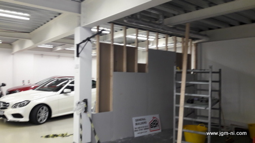 Ceilings & Partitions Bangor Holywood Finaghy Malone Boucher