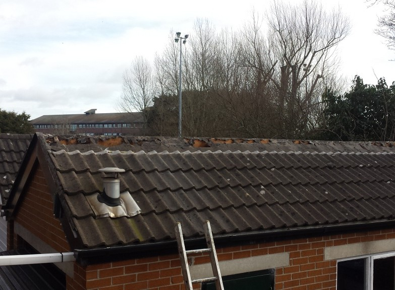 Roofers Builders Belfast Bangor Comber Garage Roof repair