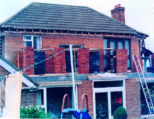 Home Extension Belfast Bangor Builders Roofers  Ian Hushy Moan