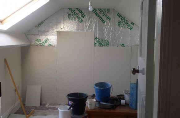 Kingspan Dry Lining Insulation Builders Belfast Bangor Holywod Newtownards
