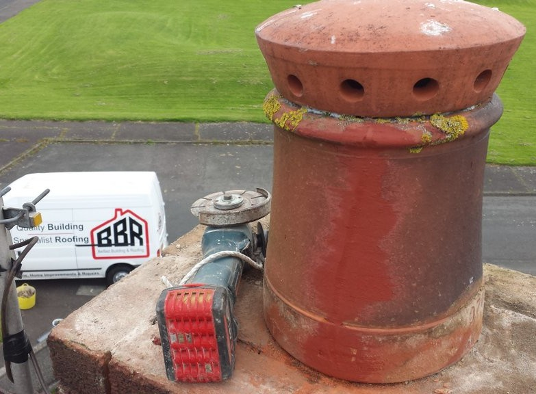 Chimney repair Belfast Builders Bangor Holywood