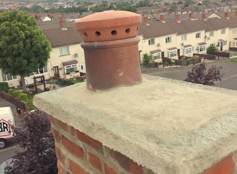 Ardoyne Chimney repair Belfast Bangor Holywood Roofers Builders