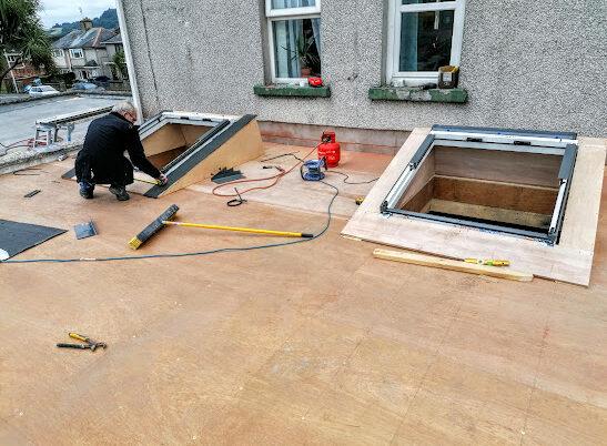 2 Roof Windows Bangor Newtownards Belfast Builders
